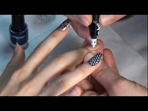 Tutorial Nail Art Pen Nail Fashion Bar Deborah Milano Youtube