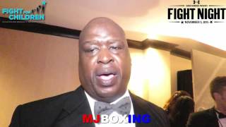 BUSTER DOUGLAS EXPRESS HOW MUHAMMAD ALI ENFLUENCED HIS BOXING CAREER