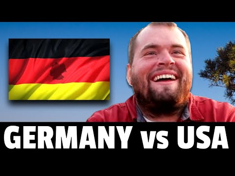 Living in Germany vs Living in the USA (surprising differences)