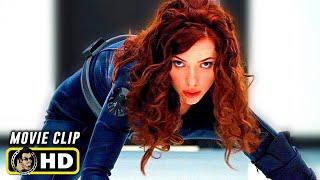 IRON MAN 2 (2010) Black Widow Fight Scene [HD] Scarlett Johansson