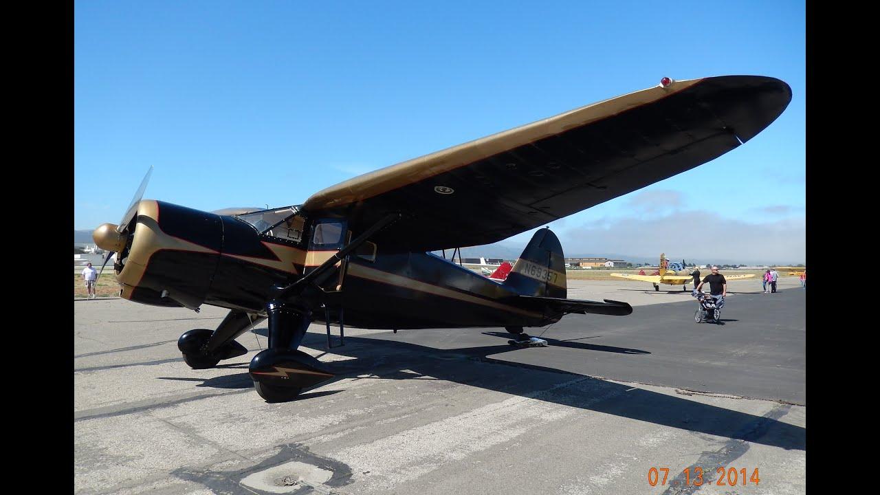 GoPro Flight in Stinson V77 Reliant (AT-19)