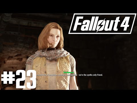 Fallout 4 - Part 23 - Doctor Amari, The Freedom Trail and Desdemona