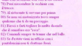 La Fortuna Di Essere Donna.