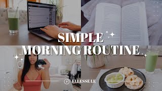 MORNING ROUTINE I the BEST green smoothie recipe, skincare, and self help books