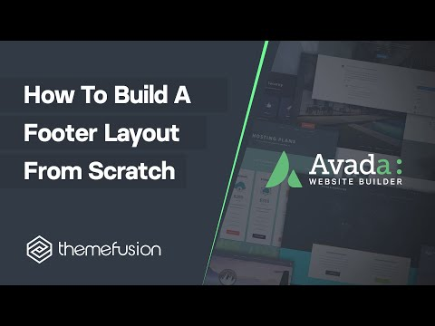 How To Build A Footer Layout From Scratch Video