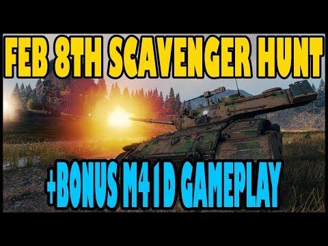 February 8th Scavenger Hunt Code - WoT Guru