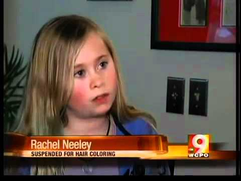Girl Suspended for Kool-Aid in Hair