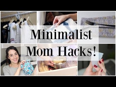 Minimalist Mom Hacks + Zero Waste Essentials ♡ NaturallyThriftyMom