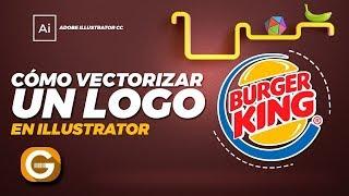Illustrator Tutorial   CÓMO VECTORIZAR UN LOGO   How to vectorize a logo
