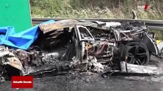 Dormunder stirbt in brennendem Lamborghini Murcielago