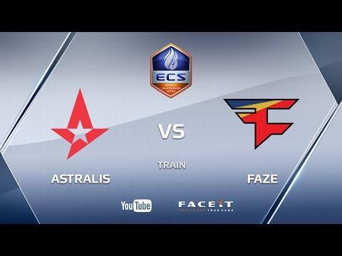 Astralis vs FaZe, train, ECS S3 Europe