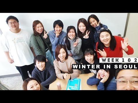 [WEEK1&2] Winter in Seoul // Yonsei University