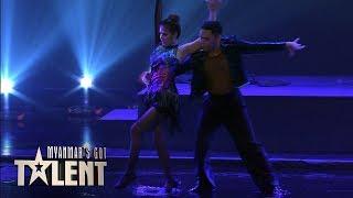 Ghizzy & May: Semi-Final 3 | Myanmar's Got Talent 2018