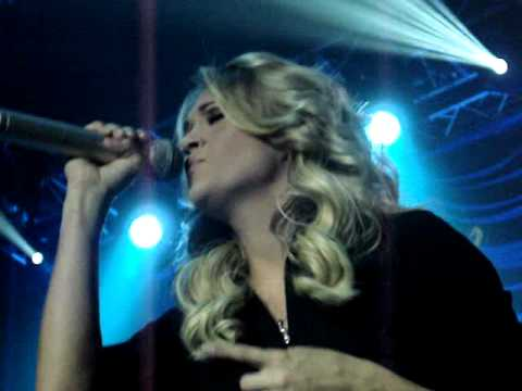 11/19/06 Carrie Underwood - Lessons Learned LIVE - Tulsa, OK
