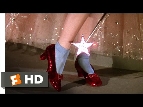 The Ruby Slippers - The Wizard of Oz (3/8) Movie CLIP (1939) HD Travel Video