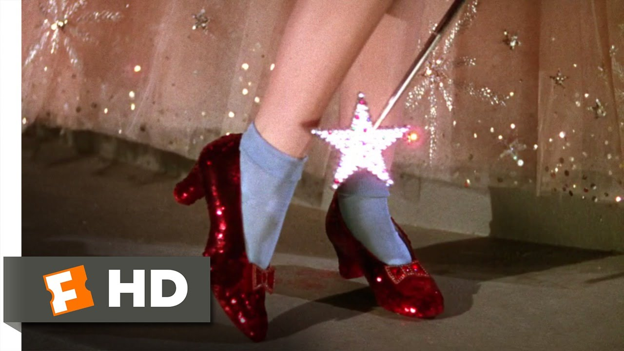 552c860d3a5 The Ruby Slippers - The Wizard of Oz (3/8) Movie CLIP (1939) HD