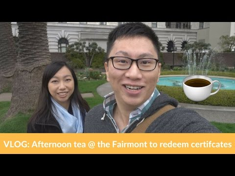 """Free"" Afternoon Tea at Fairmont San Francisco (Credit Card Perks)"