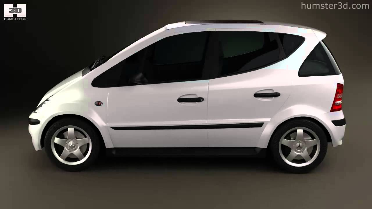 mercedes benz a class w168 1997 by 3d model store youtube. Black Bedroom Furniture Sets. Home Design Ideas
