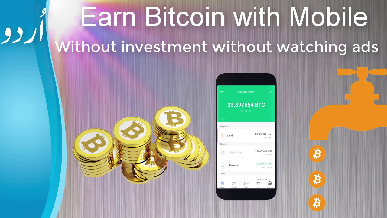 how to earn bitcoins android