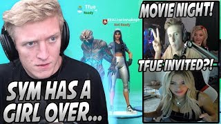 Tfue CALLS Symfuhny & Finds Out That BROOKE Is At His House! Corinna & Tfue BACK Together!