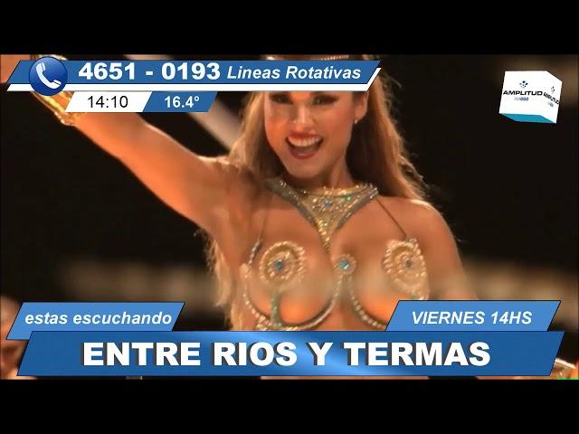 entre ríos y termas 10 5 19 el programa radial/televisivo de turismo y cultura de Entre Ríos