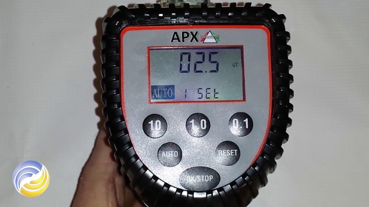APX Digital Preset Oil Meter Set Up & Operation