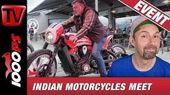 Indian Motorcycles Meet & Contest Schweiz - Ace Cafe Luzern