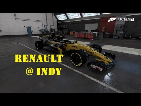 Forza Motorsport 7 - Renault @ Indy