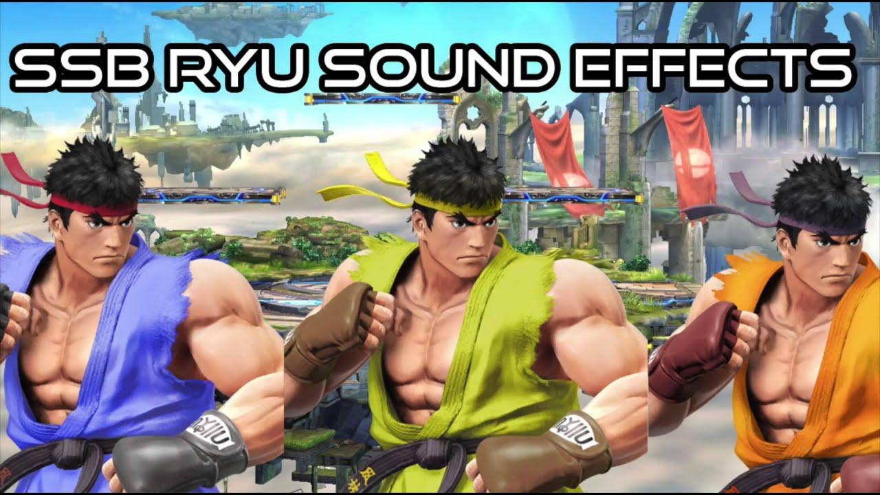 Ryu Voice / Sound Effects   Super Smash Bros  Wii U / 3DS