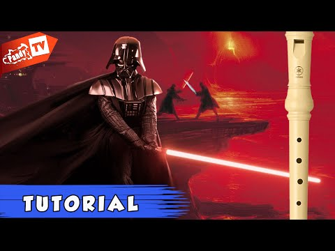 Recorder Tutorial *Star Wars - Imperial March* (Notes)