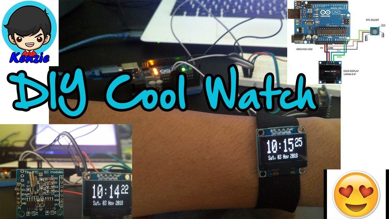 DIY Cool Watch - Arduino Project Hub