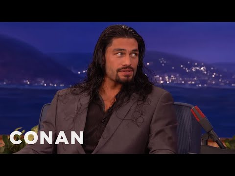 Roman Reigns' Nemesis: The Buttcheek Bandit  - CONAN on TBS