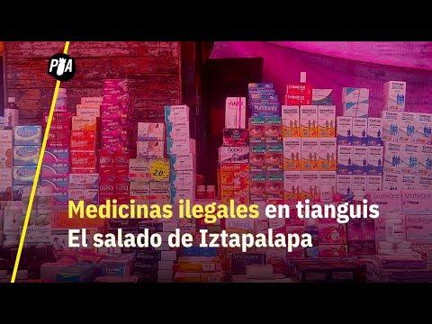 Así venden medicinas piratas en tianguis de CDMX