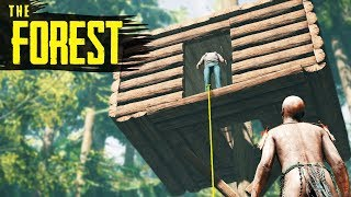 How to SURVIVE the FIRST NIGHT! The Forest Beginner's Guide (2018)
