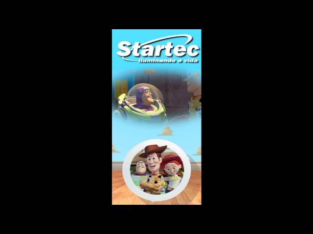Luminárias Toy Story
