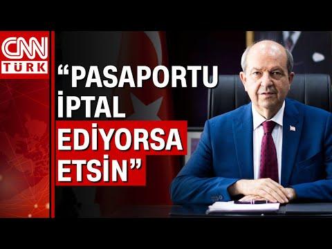 KKTC Cumhurbaşkanı Ersin Tatar'dan pasaport yanıtı!