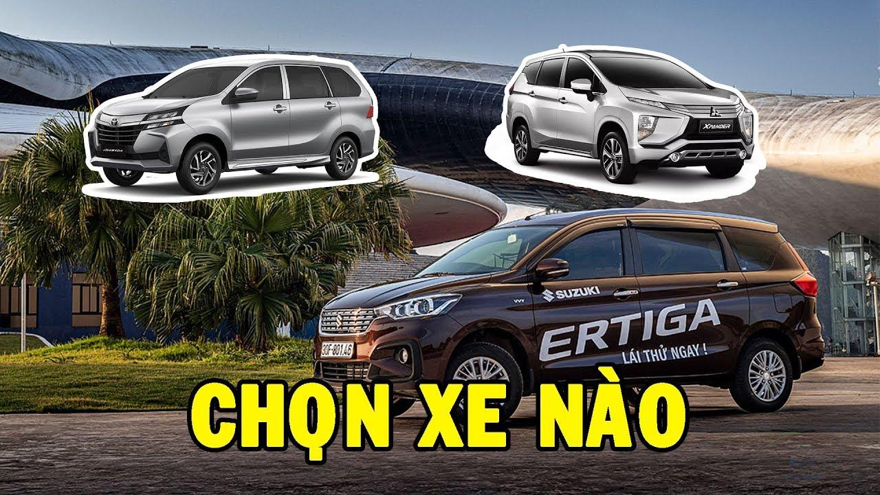 Tầm giá 600 triệu nên mua Mitsubishi XPander, Toyota All New Avanza hay Suzuki Ertiga?