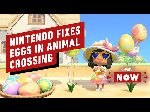 Nintendo Patches Animal Crossing To Fix Those Eggs - IGN Now