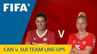 Canada v. Switzerland - Team Lineups EXCLUSIVE