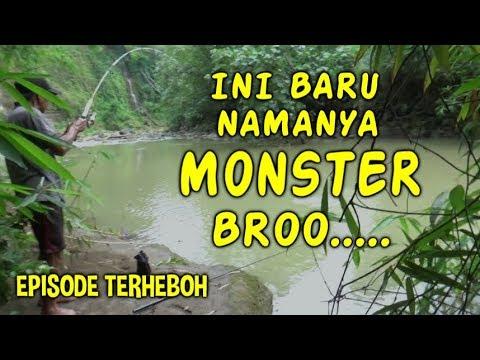 Kehebohan Saat Mancing Strike Ikan Monster