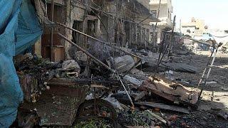 قصف جوي لقوات النظام السوري لسوقين شعبيين يُخلف 44 قتيلا والعشرات من الجرحى    20-4-2016