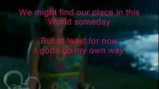 Gotta Go My Own Way (Karaoke Duet w/ Troy!)