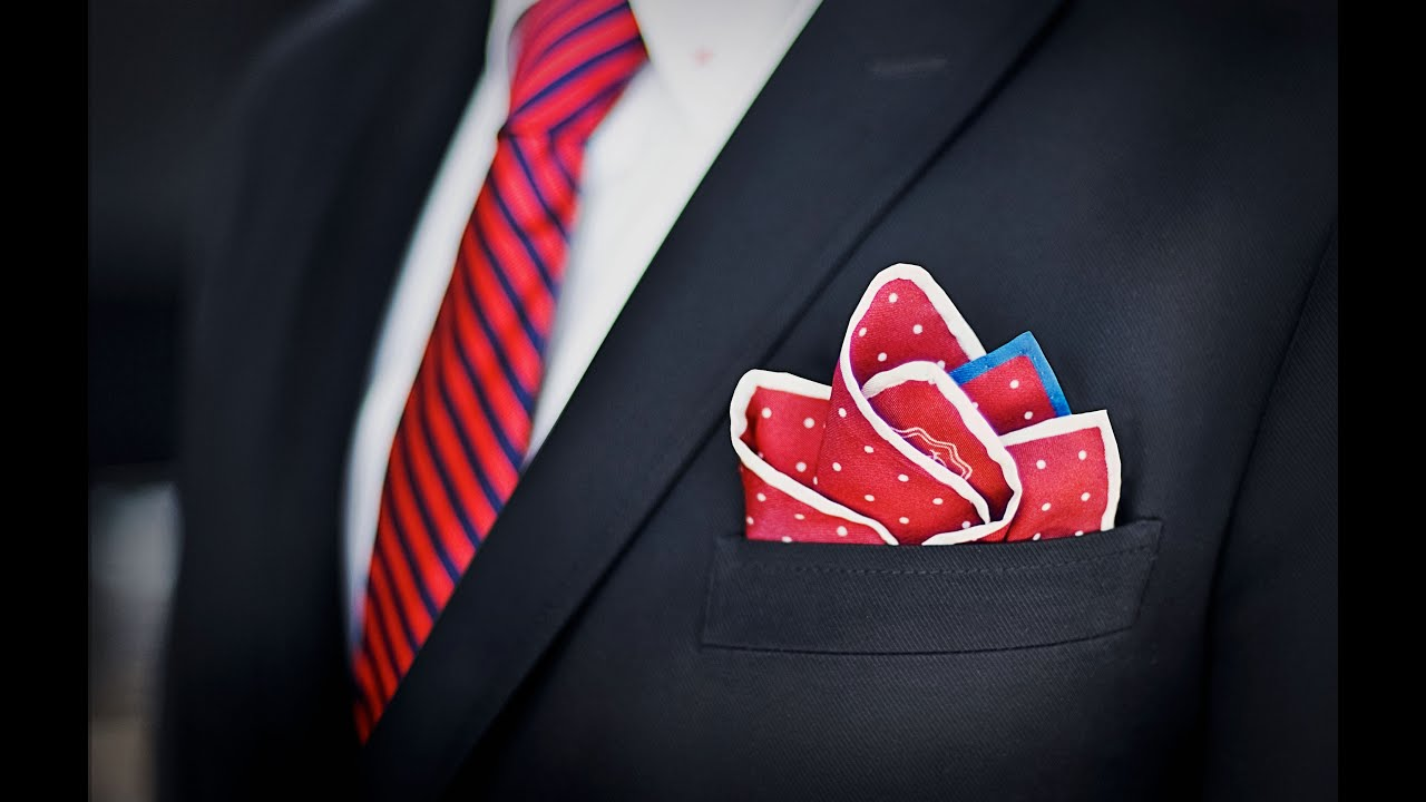How to fold a Pocket Square : Suit Company