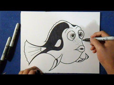Como desenhar o Dori - Procurando Nemo