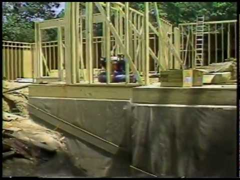 permanent wood foundations comfortable living youtube