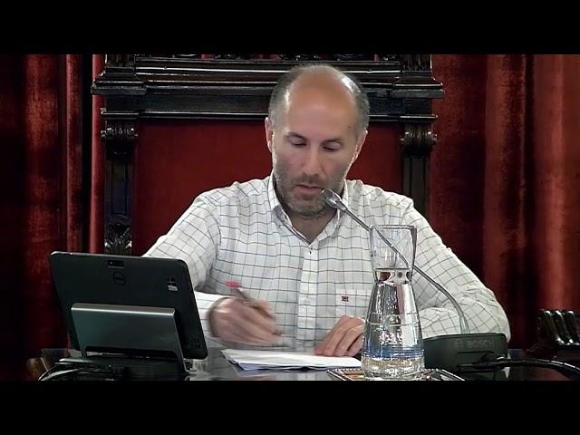Pleno extraordinario Concello  5-07-2019