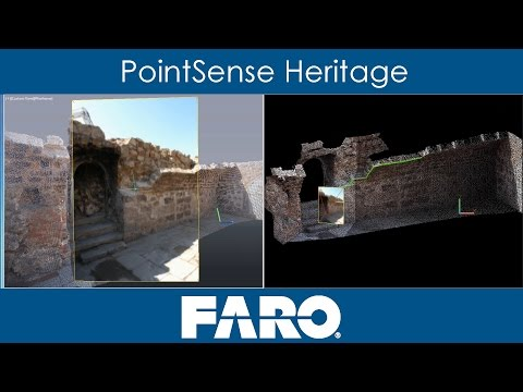 PointSense Heritage: Laser Scanning and Photogrammetry in AutoCAD