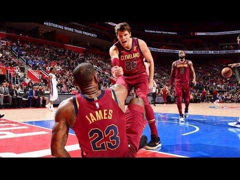 LeBron James 16 Points 1st QTR! Cavs 5 Game Win Streak! 2017-18 Season