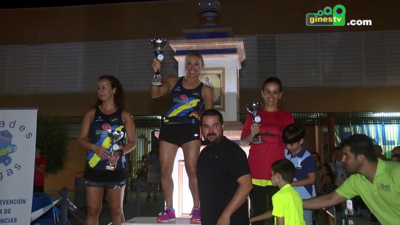 """230 atletas hicieron realidad la IV Carrera Nocturna """"Gines Urbana"""""""