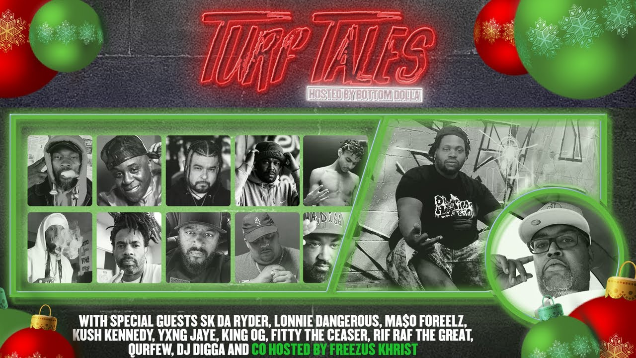 """Overtime Hustlin Presents """"Turf Tales"""" Episode 35 Hosted by Bottom Dolla #HolidaySpecial"""